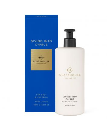 Diving Into Cyprus - 400ml Body Lotion