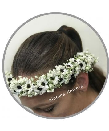 Floral Crown - White Daisy