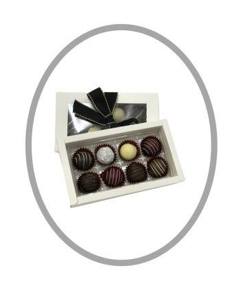 CHOCOLATE TRUFFLE ASSORTMENT 8 piece