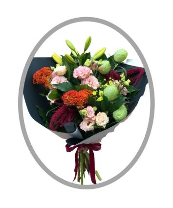 Season's Best - Front Facing Bouquet