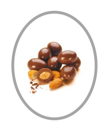 MILK CHOCOLATE SCORCHED ALMONDS